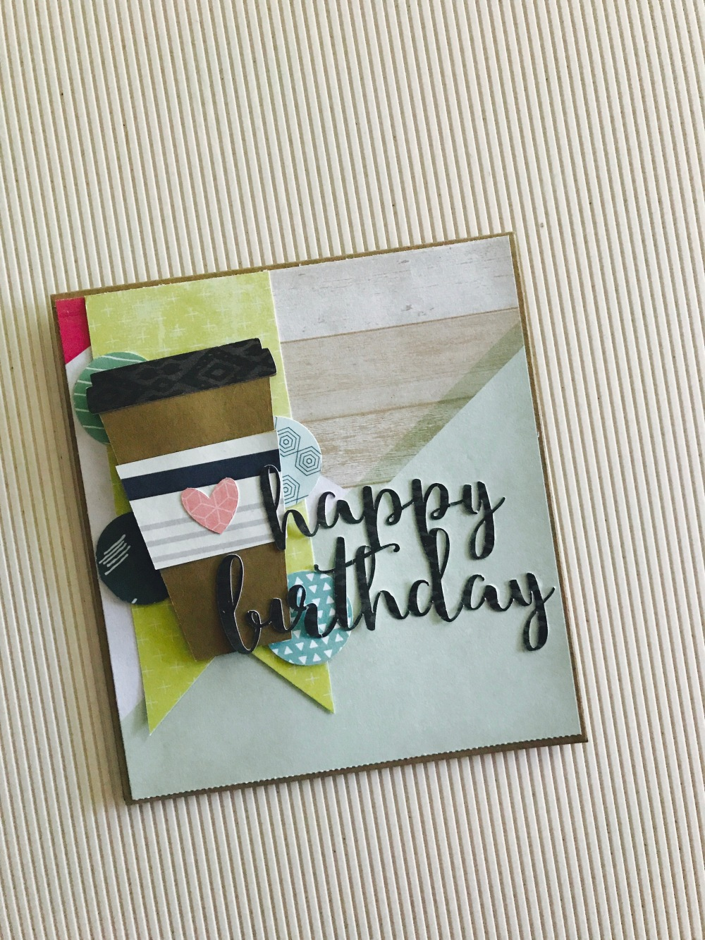 Happy Birthday Card I Love You More Coffee The Daily Life Of